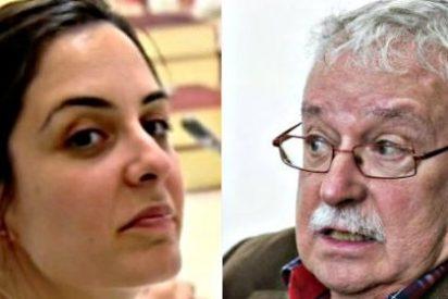 La 'asaltacapillas' Rita Maestre se engancha en Twitter con el veterano Joaquín Leguina