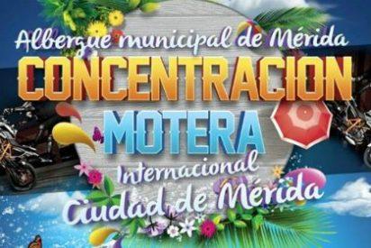 """Mérida agoge la """"I concentración Internacional Moto Turística"""""""