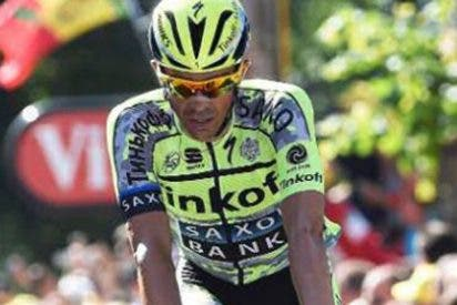 Tour de Francia: Valverde se mete en el podio en un día en el que Contador pierde todas sus opciones