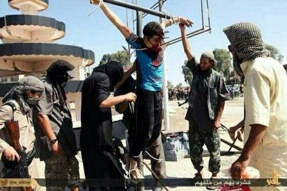 El Estado Islámico crucifica a una treintena de personas por no cumplir el Ramadán