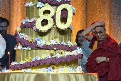 El Dalái Lama cumple 80 años