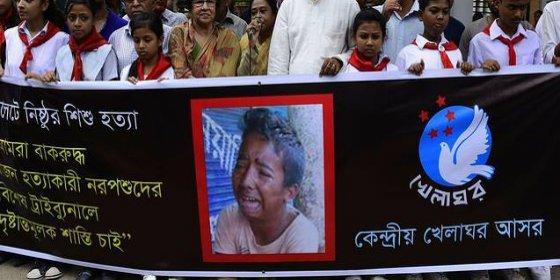 #JusticeForRajon: Torturan y matan a un niño de 13 años en Bangladesh y suben el vídeo a Facebook