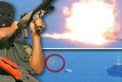 El EI vuela con un misil una fragata militar egipcia en pleno Mediterráneo