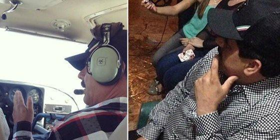 Las fotos de 'El Chapo' Guzmán tras su fuga: bebiendo cerveza y volando