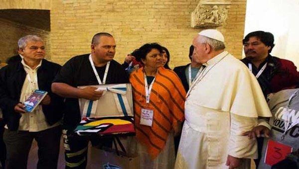 Histórico discurso del Papa en Bolivia
