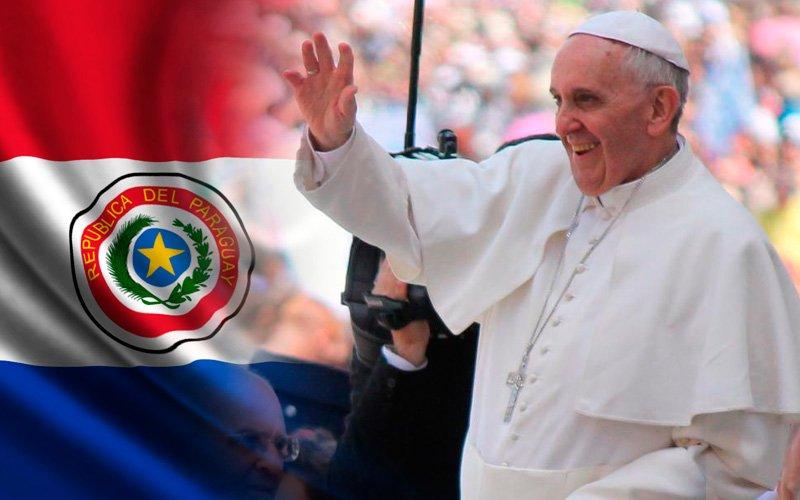"""El Papa ya está haciendo """"milagros"""" antes de pisar terreno paraguayo"""