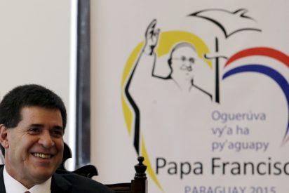 Al Papa le rebasó el cariño de la gente en su visita a Paraguay