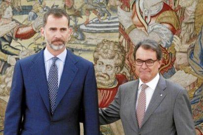 El plan secesionista de Artur Mas marca su primera visita a la Zarzuela desde la proclamación de Felipe VI