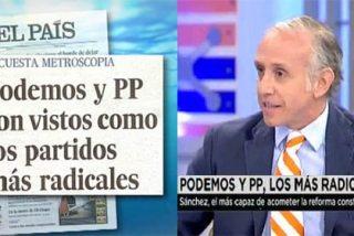"""Inda: """"A Rubalcaba y a Cebrián hay que decirles que no hagan tanto el ridículo con las encuestas de El País"""""""
