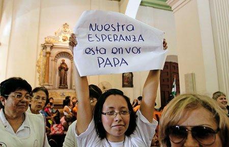 La visita del Papa de la esperanza