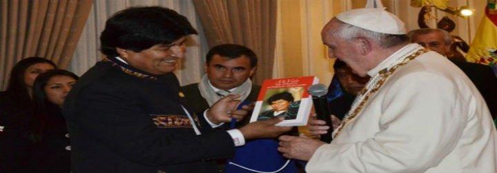 Evo Morales teme por la vida de Bergoglio