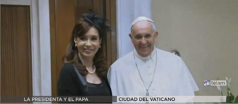 Cristina volverá a verse con Francisco en Paraguay