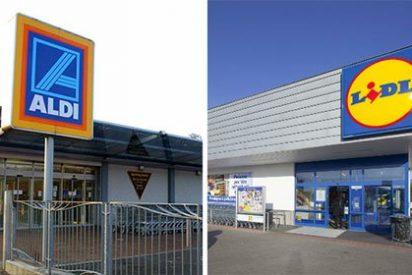 Guerra de precios entre los supermercados Aldi y Lidl