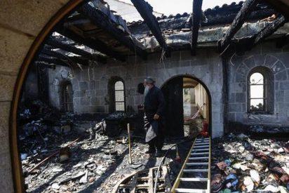 Israel detiene a los responsables de un incendio en una iglesia