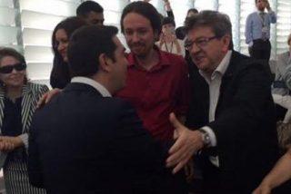"""Inda 'se parte la caja' del líder de Podemos: """"¡Tsipras le hace la cobra a vuestro ídolo Pablo Iglesias! ¡Pasa de él! ¡Es maravilloso!"""""""
