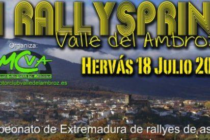 Todo preparado para la disputa del III Rallysprint Valle del Ambroz