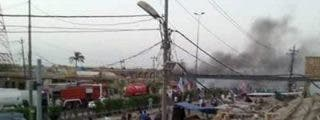 Más de 100 muertos en un atentado suicida del EI en un mercado de Bagdad