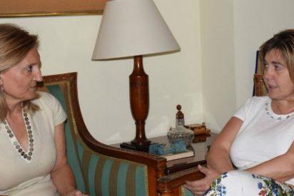 La presidenta de la Diputación de Cáceres se reunió con la subdelegada del Gobierno