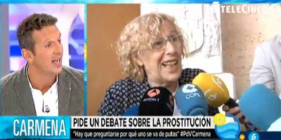 """Joaquín Prat se 'podemiza' apoyando los exabruptos de Carmena: """"No son consumidores de prostitución, ¡se van de putas! ¡Es la realidad!"""""""