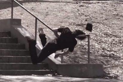 La leche más tremenda en 'skateboarding' que se haya visto en YouTube