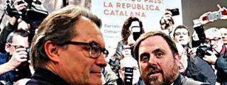 Artur Mas y ERC pactan una lista conjunta para el 27-S y un Gobierno