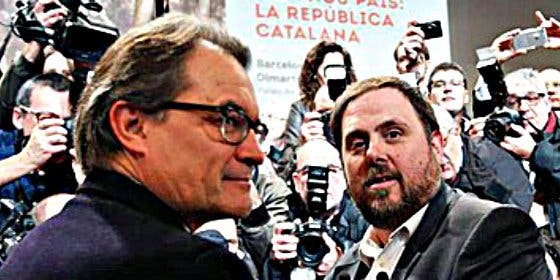"""Mas y Junqueras iniciarán la """"desconexión"""" con España el 28-S"""