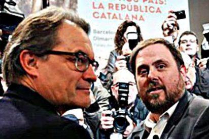 Artur Mas se sale con la suya y arrastra a Oriol Junqueras a su lista independentista