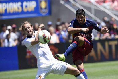 Los del Manchester United le mojan la oreja al Barça (1-3)