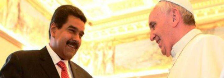 """Nicolás Maduro: """"Le he propuesto al papa Francisco que apoye la Misión Milagro"""""""