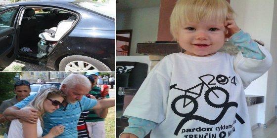 Una niña de dos años muere asfixiada y quemada después de que su padre la olvidara en el coche