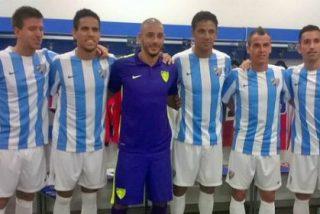 El Málaga sorprende con su segunda equipación