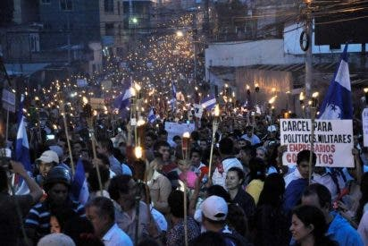 "La Iglesia hondureña legitima las ""marchas de las antorchas"""