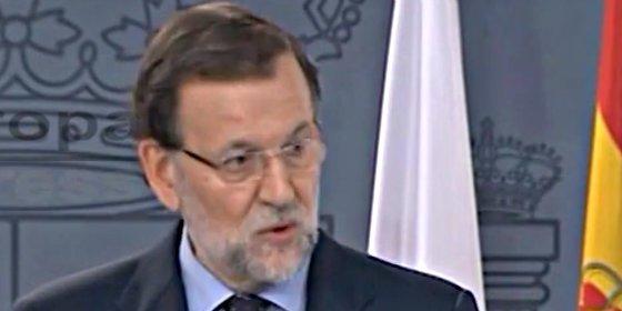 """Mariano Rajoy: """"Ningún catalán perderá su condición de español y europeo"""""""