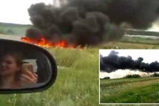 El impactante nuevo vídeo de la caída del vuelo MH17:
