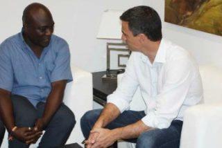 Fernández Vara recibe al ciudadano nigeriano sobre el que pesa una orden de extradición