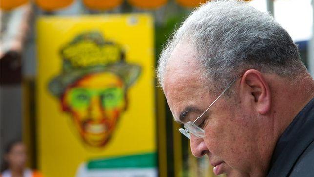 Atracan al cardenal de Río de Janeiro