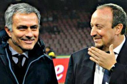 "Jose Mourinho: ""Que la mujer de Rafa Benítez se ocupe de la dieta de su marido"""