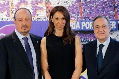"""La mujer de Rafa Benítez bromea sobre el currículum de su marido y el de Mourinho: """"Vamos arreglando los entuertos que deja el 'amigo'"""""""