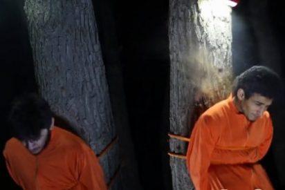 El vídeo de la ejecución nocturna más terrorífica del EI: ¡Acusados de filmar Raqqa con relojes espía!