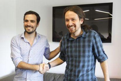 Alberto Garzón monta la 'marca blanca' de IU y a un cabreado Pablo Iglesias le da la tiritona