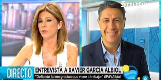 Esther Palomera se inventa unas declaraciones de Albiol para atacarle