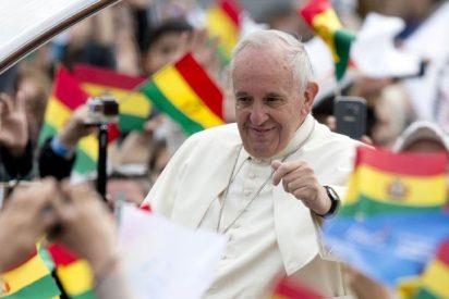 Francisco visitó Bolivia