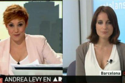 Cristina Pardo, obsesionada con Esperanza Aguirre, intenta que Andrea Levy hable mal de ella