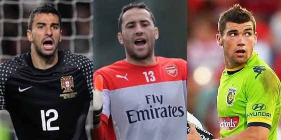 Uno de estos tres será el nuevo guardameta del Valencia