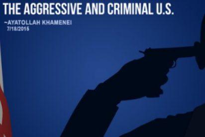 El mensaje del líder supremo iraní a EEUU con Obama suicidándose