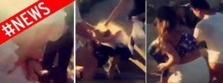 La brutal paliza a una chica de 15 años que han grabado dos chifladas