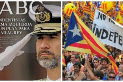 ABC revela una conspiración contra la Monarquía de separatistas vascos y catalanes
