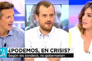 Sandra Barneda y Joaquín Prat hacen la entrevista más amable de la historia a un podemita