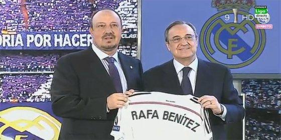Rafa Benítez frena la salida de uno de sus jugadores