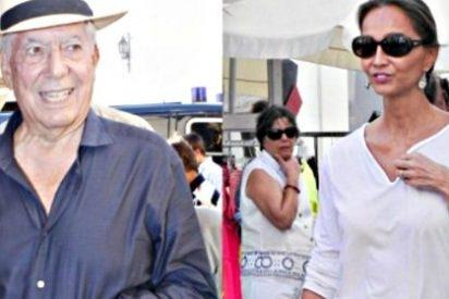Isabel Preysler y Mario Vargas Llosa: crucero por la Costa Azul